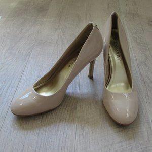 Rampage Shoes - Rampage Jayney Beige Nude High Heels Size 9.5